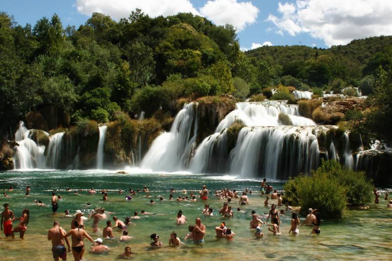 Parque Krka ou Lagos Plitvice?