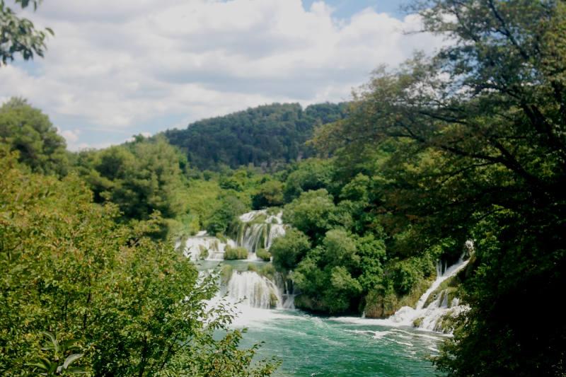 Parque Krka na Croácia