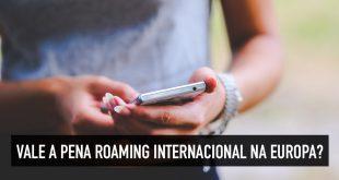 Roaming de celular na Europa