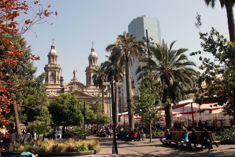 Temperatura em Santiago do Chile