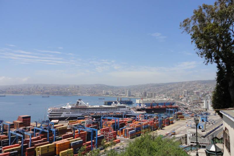 Valparaíso, cidade do Chile
