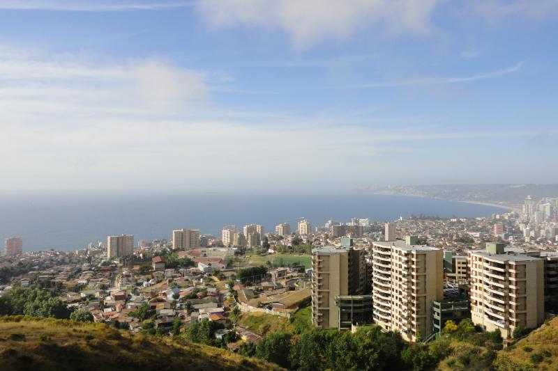 Cidades de praia no Chile