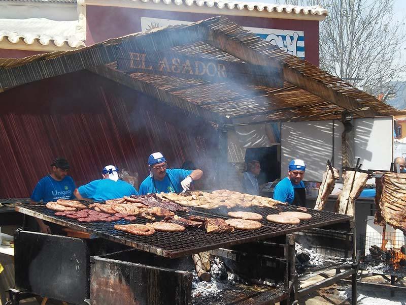 Churrasco uruguaio é comidas típicas do Uruguai