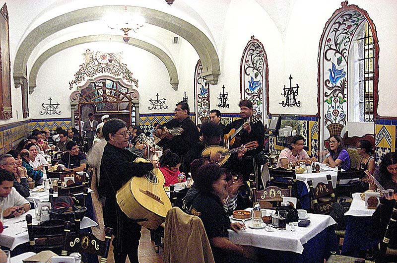 Restaurantes de comida tradicional mexicana