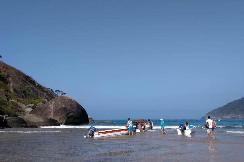 Barco para o Bonete, Ilhabela