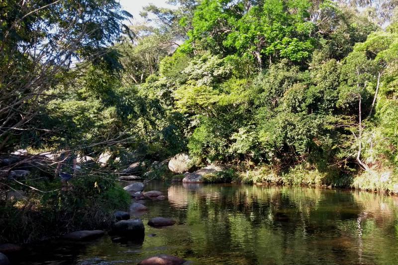 Cachoeira no Bonete, Ilhabela