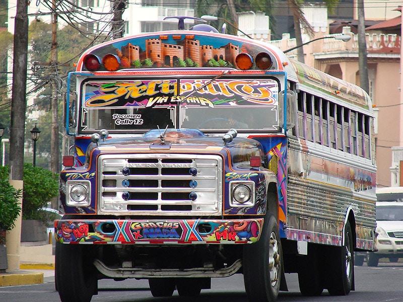 Como se locomover na Cidade do Panamá