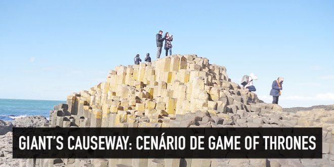 Giant's Causeway na Irlanda do Norte