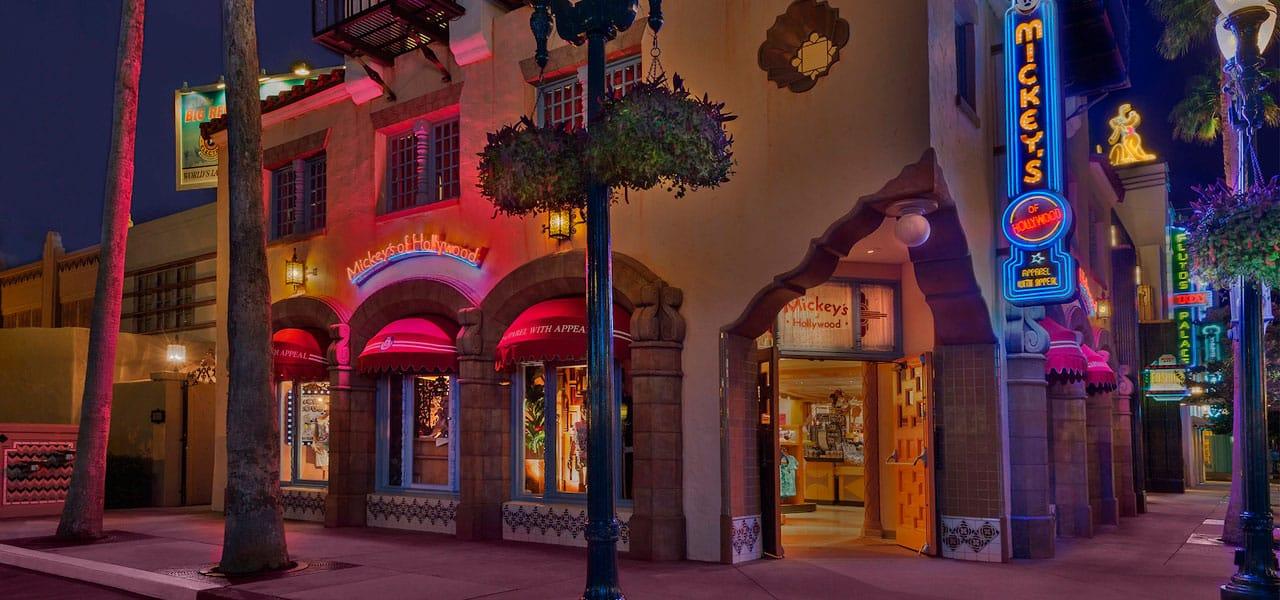 lojas no hollywood studios