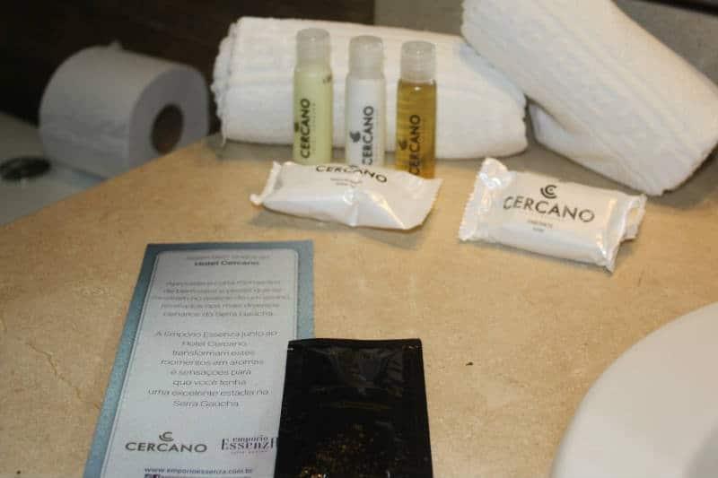 Telefone do hotel Cercano em Gramado