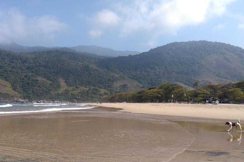 Praia do Bonete em Ilhabela, SP