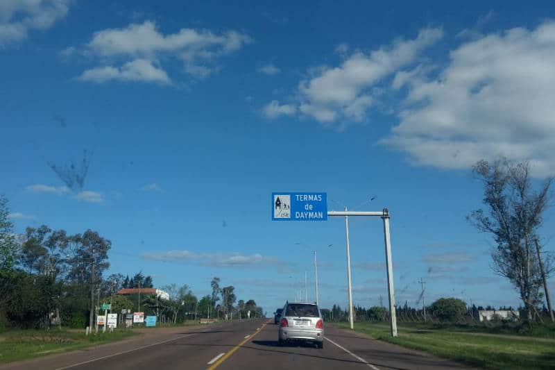 Como chegar nas termas do Uruguai