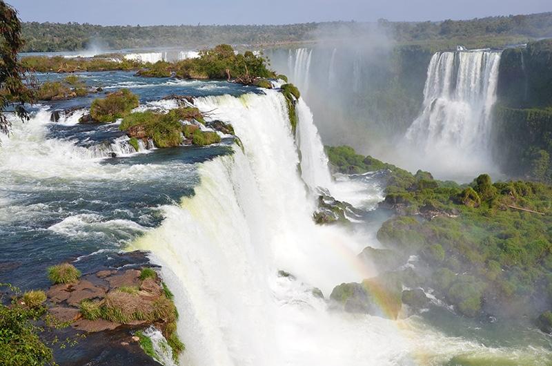 as cataratas do lado do brasil