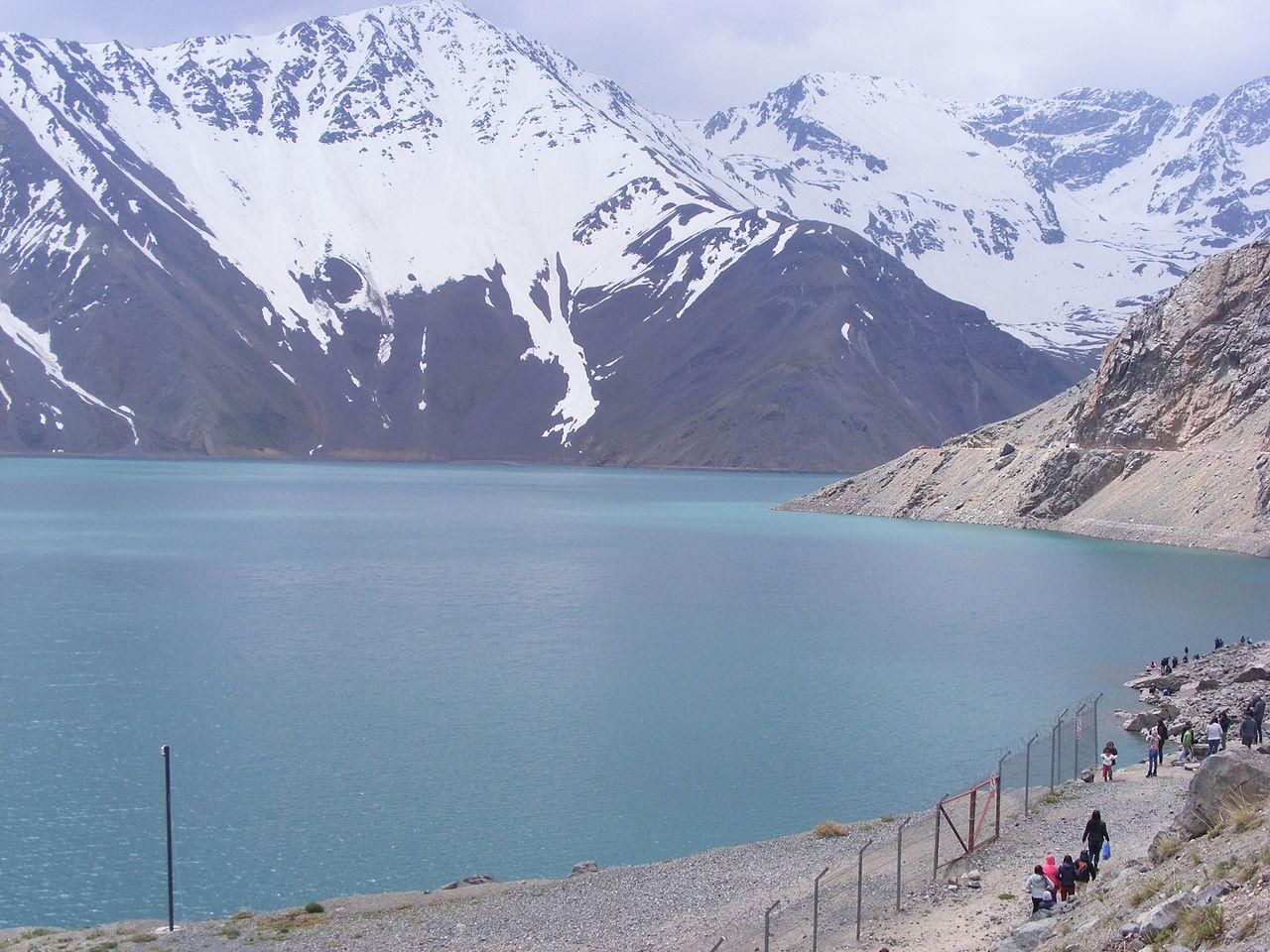 Turismo nos arredores de Santiago do Chile