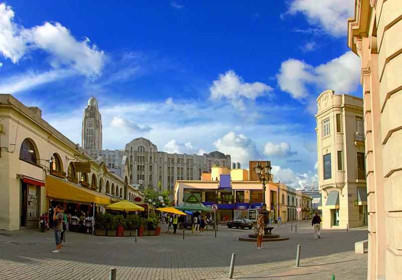 Qual é o melhor horário para visitar o mercado do porto de Montevidéu?