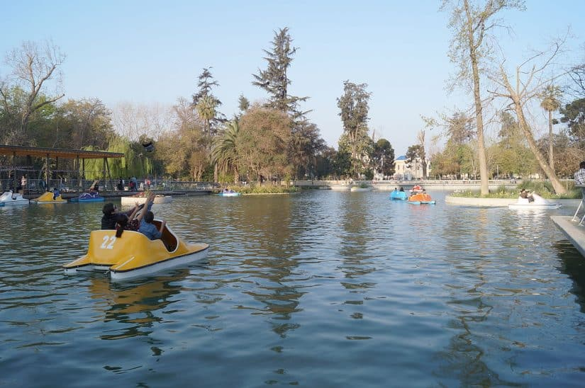 Os melhores parques de Santiago