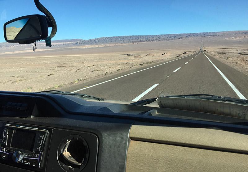 Ir de carro de Santiago ao Atacama
