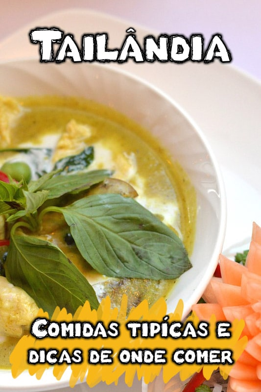 Comida típica da Tailândia