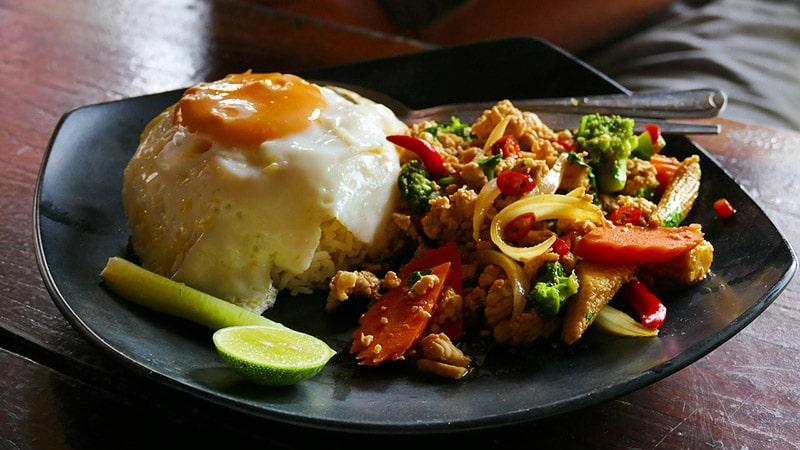 Comidas típicas tailandesas