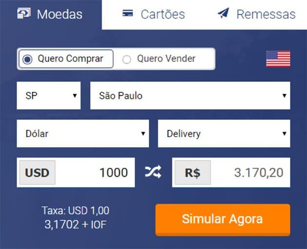 Como comprar moeda estrangeira?