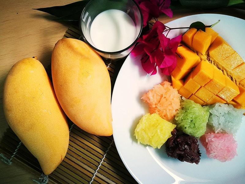 Doces típicos da Tailândia