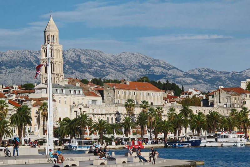 Foto de pontos turísticos da Croácia