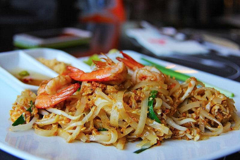 Melhores comidas tailandesas