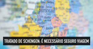 Seguro é necessário no Tratado de Schengen?
