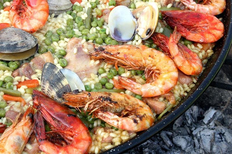 Onde comer paella em Valência