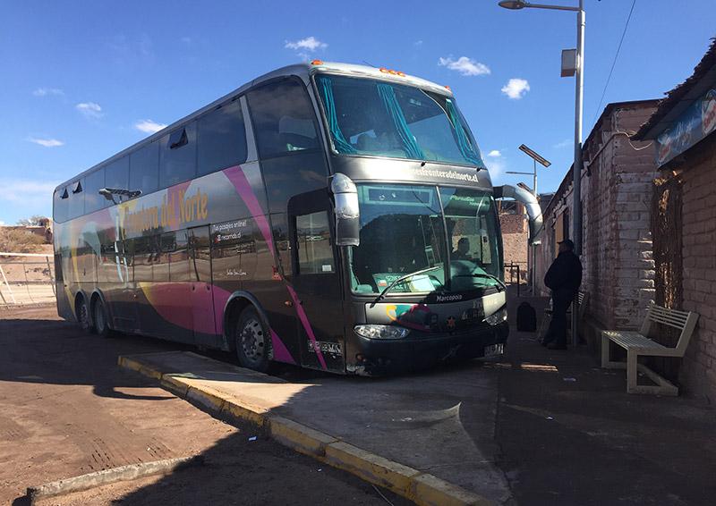 Como ir de ônibus de Santiago para o Deserto do Atacama