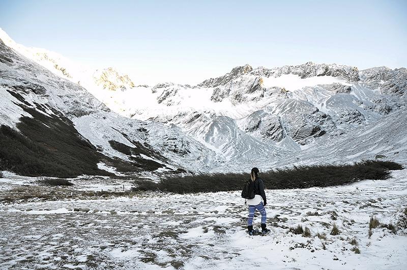 Como visitar o Glaciar Martial?