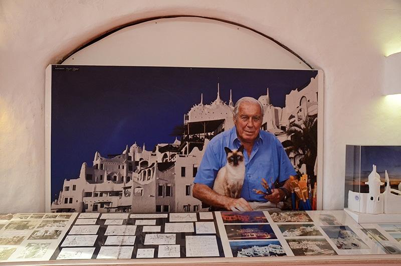 Quem construiu a Casapueblo no Uruguai