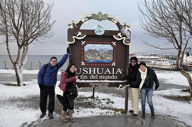 Como chegar a Ushuaia