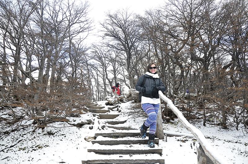 Precisa de guia para subir o Cerro Martial em Ushuaia?