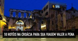 Dicas dos 10 melhores hotéis na Croácia: Dubrovnik, Zagreb, Split e mais