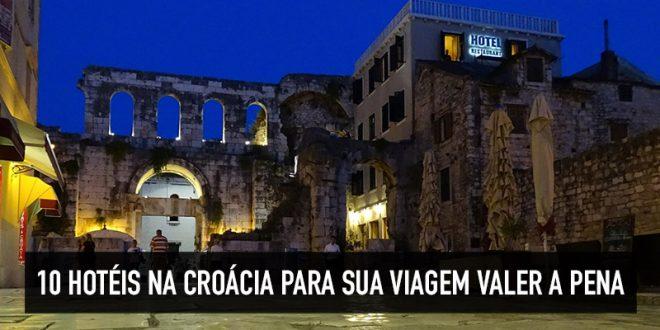 Top hotéis na Croácia
