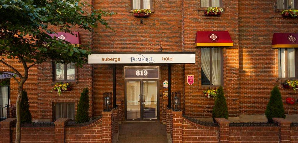 Auberge Le Pomerol hotel canada