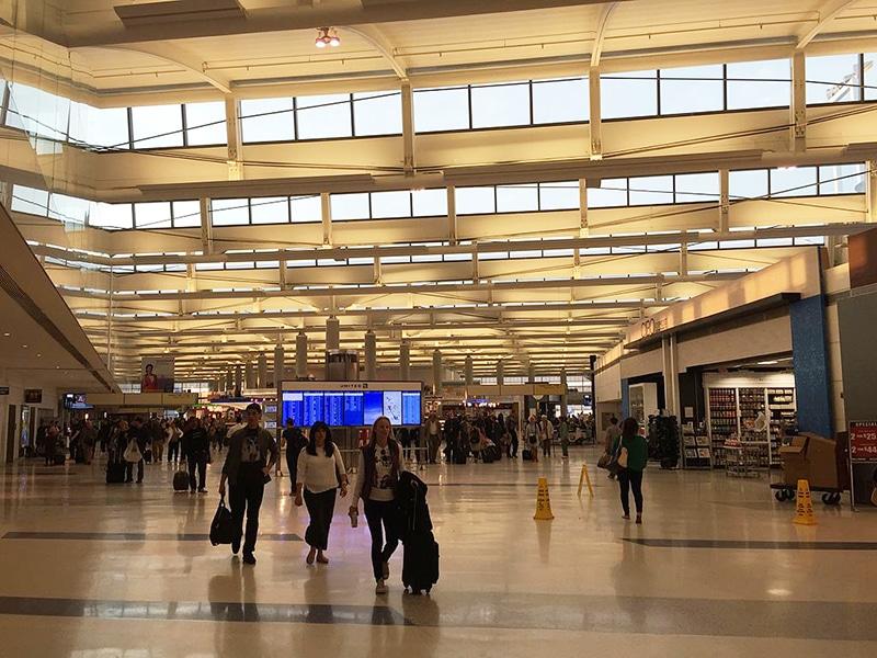 Aeroporto de Newark em New Jersey