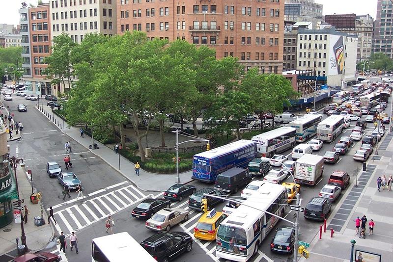 Transporte público em Nova York