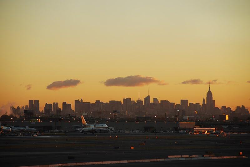 Do LaGuardia para o centro de Nova York