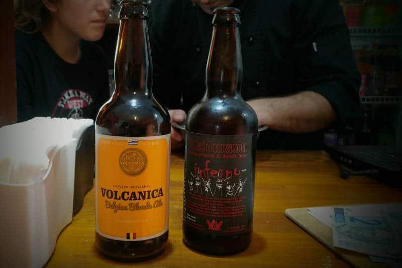 Cervejas artesanais do Uruguai
