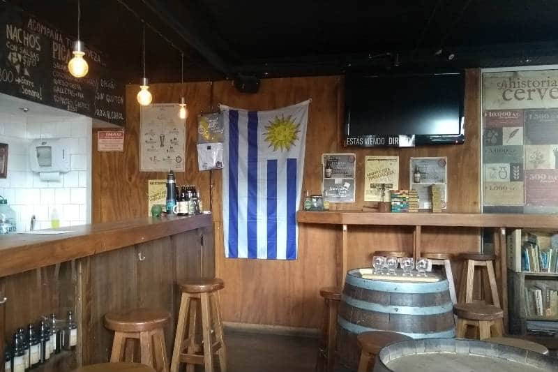 Cerveceria Mastra, choperia uruguaia