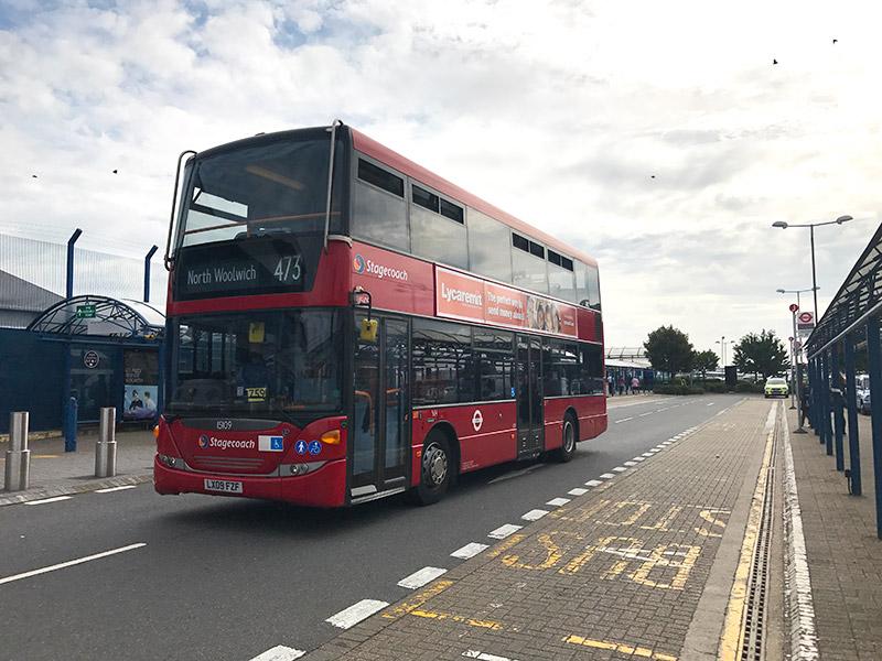 Como andar de ônibus em Londres