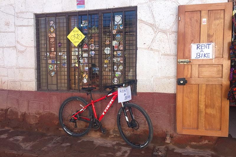 Alugar bicicleta em San Pedro de Atacama
