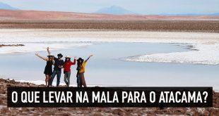 Arrumar a mala para o Atacama
