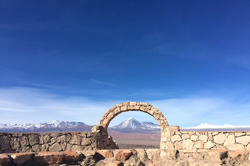 Passeio de bike no Atacama