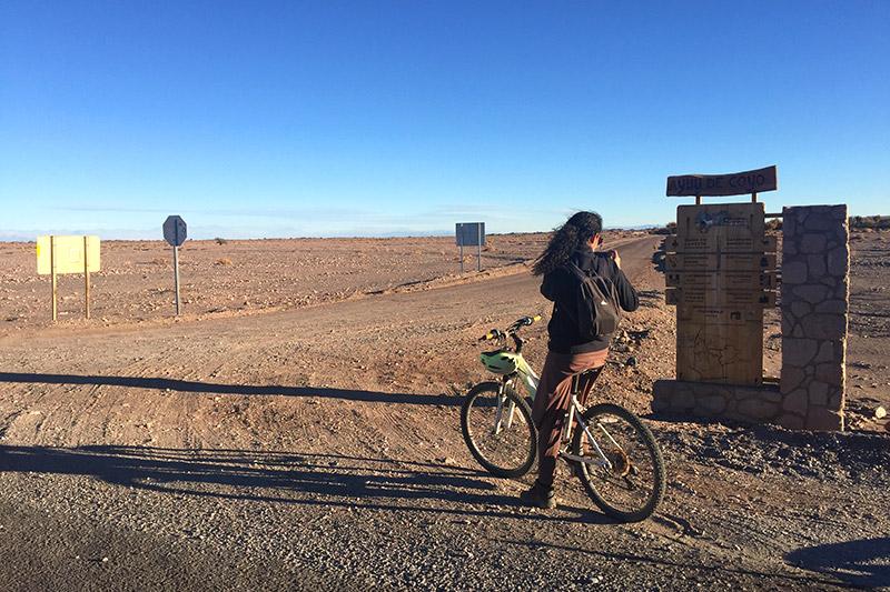 Viagem de bike na América do Sul
