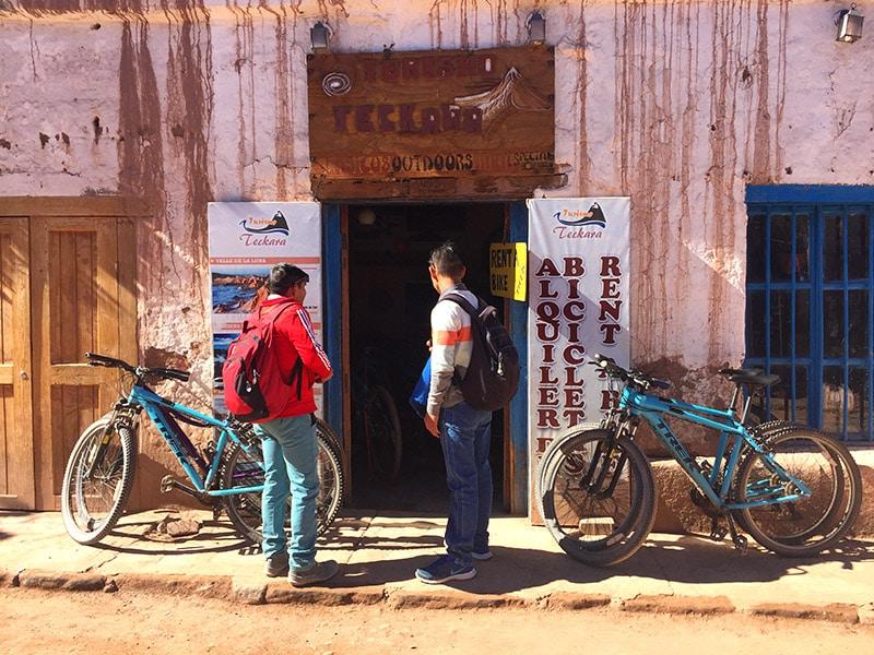 Tour de bicicleta no Atacama