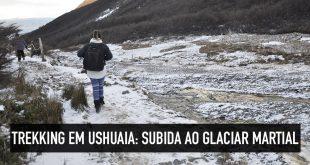 Como fazer trekking até o Glaciar Martial