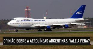 Como é voar com a Aerolineas
